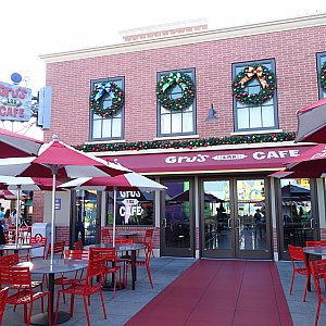 エリアに隣接して「グル―のラボカフェ」というレストランがありますが、営業していませんでした…
