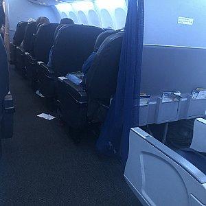 サンフランシスコ→羽田便は787でした♪