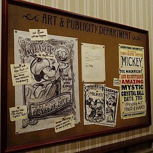 待合室のポスター