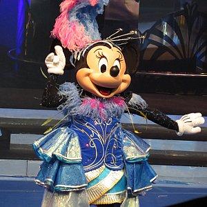 25周年衣装のミニーちゃん
