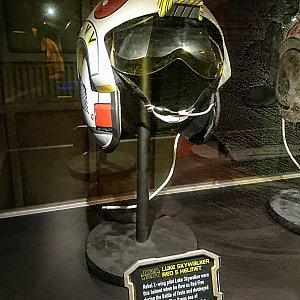 ルーク・スカイウォーカーのヘルメット。