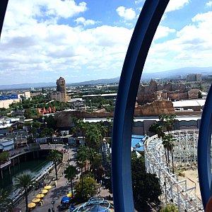 最高地点からの眺めです。肉眼ではもっと綺麗ですよ!