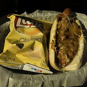 チリチーズドック!辛さはなかった。