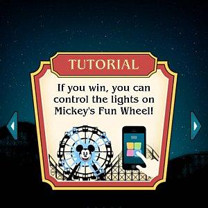もし優勝するとファンウィールのライトを操作できます!