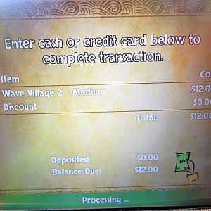 支払い内容を確認します。