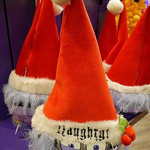 紫になったミニオンの帽子まで売ってました!こちらはパーク内のみ販売してました。