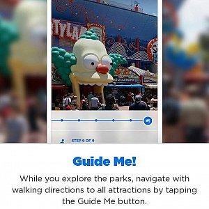 位置情報を利用してアトラクションやレストランへのルートを検索したり…なんてこともできます!ユニバーサル・オーランドに行く際は必ずゲットしておきたいアプリです!