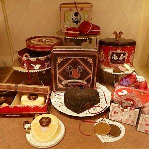 こちらはお手頃(中間)の価格で購入出来るチョコレートたちのショーケース!