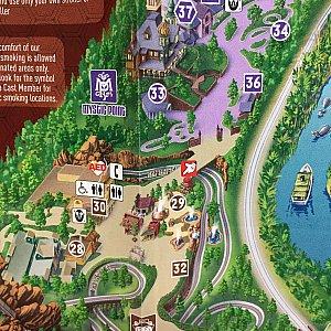 29番横の赤いグリーティングポイントを目指しましょう!間欠泉の近くでグリします!