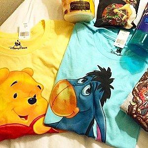 プーさんとイーヨのTシャツが可愛すぎて購入しました!ハイクオリティなタッチの絵が大好きです!