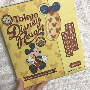 東京ディズニーリゾートとと 大きくかかれています!可愛いパッケージ!