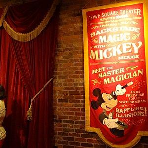 マジシャンミッキーのバナー