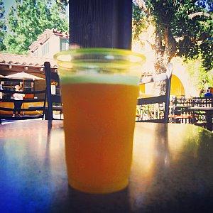 オレンジの香りが爽やかなOrange Wheat Ale。アルコール度数は4.6%です。