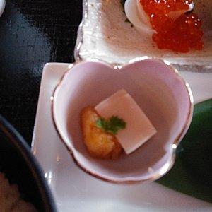 ごま豆腐と杏子