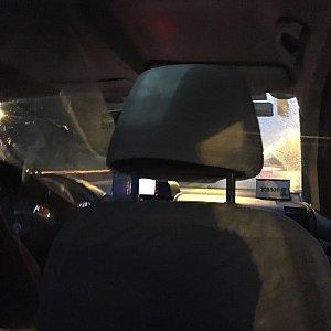 """タクシー会社は大手の""""海博タクシー""""でしたが運転手さんは星無しでした。"""