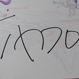ティモンのサインです♪
