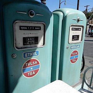 ガソリンスタンドです