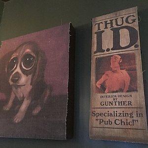 画家になりたいって言ってる方もいましたねー。ちなみにこの犬の絵は一瞬映画で登場します!!!