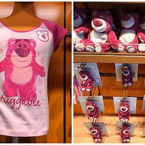 左 キッズ用Tシャツ♡139元 ぬいぐるみマグネットの値段は見忘れました
