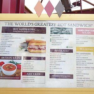 すごい余談ですが、ここのホットサンドウィッチが半端なく美味しいです。値段も7ドルくらいと安いです。日本にも上陸して~!