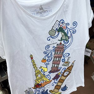 このレミーデザインのシャツは可愛いらしいですね。