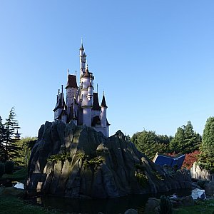 美女と野獣のお城が凝ってました