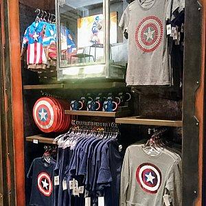 キャプテン・アメリカのコーナー。