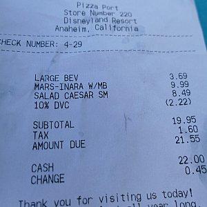 DVCのメンバーカードで安くなりました♪