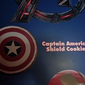 キャプテン・アメリカのシールド・クッキー