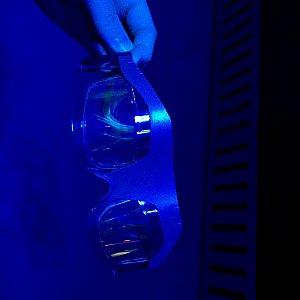 このアトラクションの3Dグラスはこんな感じです。
