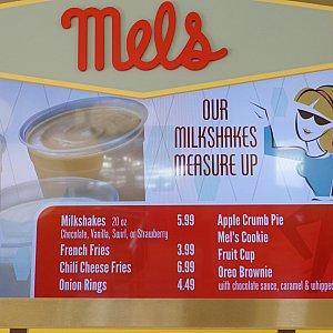 ミルクシェイクは5.99ドル