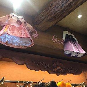 ミニーちゃんのセンスが光る展示のお洋服♡ 娘に着せたい!!!