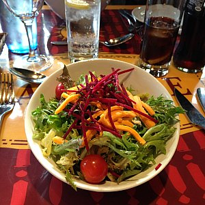前菜のサラダです