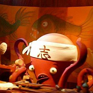 """マイクとセリアがデートで使った お寿司屋さん""""ハリーハウゼン""""の寿司職人ハリー! もしかして君なのか!(違ったら笑う)"""