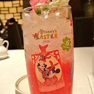 """""""ディズニー・イースター"""" スペシャルノンアルコールカクテル コレクタブルグラス"""