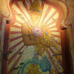 神殿の壁画