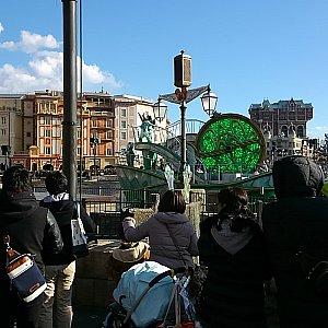 グリーンの船(昼)※広角レンズ使用