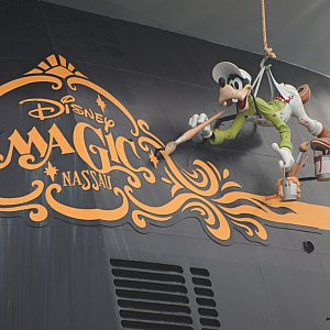 Magic号はグーフィーですが、船によって違うみたいですよ。