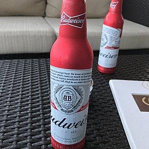 昼からビールを頂けるのも、クルーズならでは!