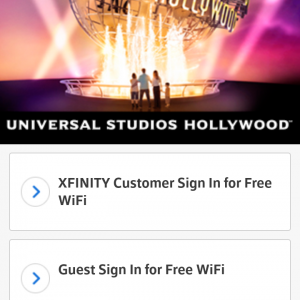 「Guest Sign In for Free Wi-Fi」をタップ!