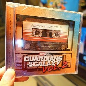 ガーディアンズ・オブ・ギャラクシー Vol.2の楽曲CD(11.98ドル)