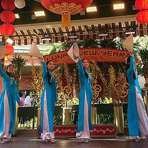 ベトナム舞踊。