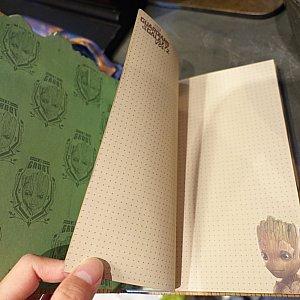 ノートの中はこんな感じ