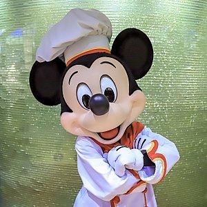 ディナータイムの場合、ミッキーは土日祝と祝前日にのみ登場します。