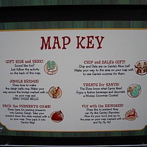 まずはマップを見て探検!
