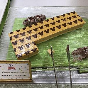 キャラメルムースケーキ。