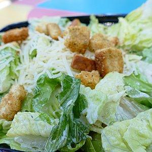 王道のシーザーサラダ!ドレッシングとあえてあるので途中で味が薄く感じましたが野菜を食べれるのはかなり嬉しかったので完食しました!