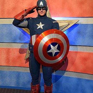 キャプテンアメリカ!