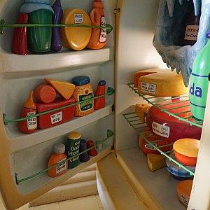 冷蔵庫の中はカオス笑
