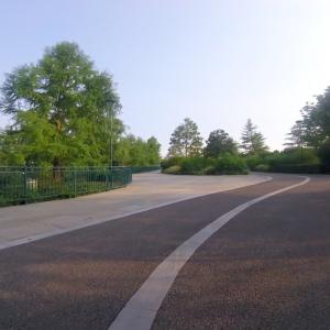 道はキレイに舗装されていて走りやすいです。